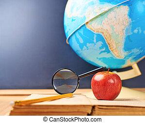 studerend , samenstelling, aardrijkskunde