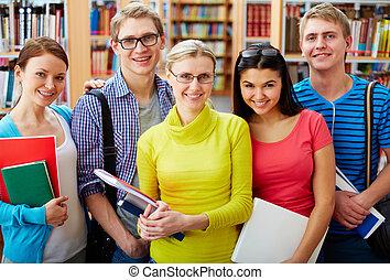 studerende, selskab