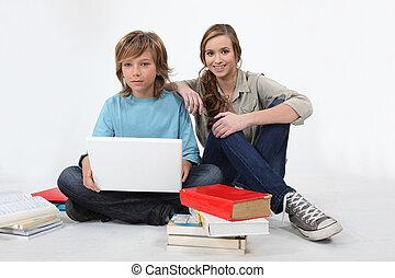 studieren, jungendliche