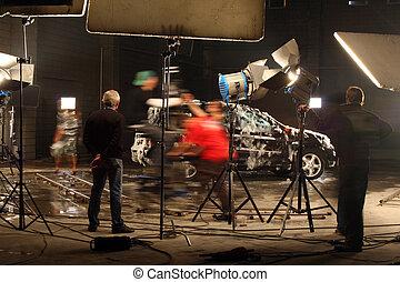 studio, film