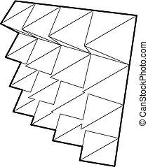 Studio insulation icon, outline style