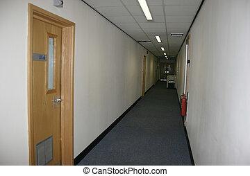 studio, korridor