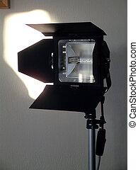 studio, lamp