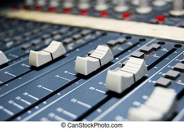 studio, mélangeur