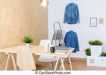 Studio of creative worker