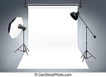 studio photo, fond
