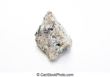 studio photo of monzonitic granite