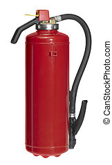 red fire drencher