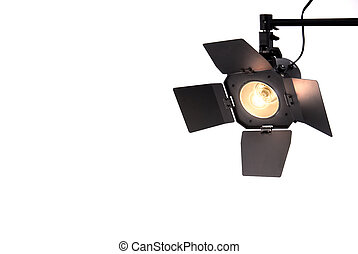 Studio Spot Light -  Studio Spot Light with hatches.