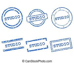 Studio stamps