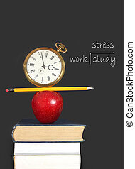 studio, stress