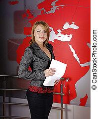studio télévision, directeur, journaliste
