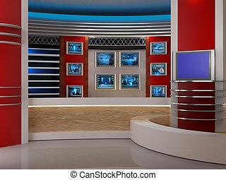studio television.