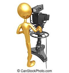 Studio Television Camera