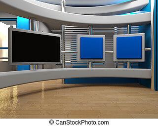 studio tv - background for Studio  tv chroma