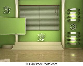 studio tv - 3d studio for green chroma