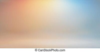 studio's, colores, brillante, plano de fondo