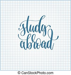 study abroad hand lettering motivation and inspiration...