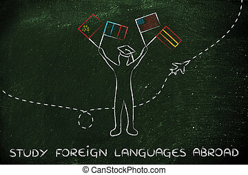 study foreign languages abroad