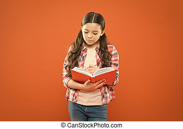 Study language. Girl cute write down idea notes. Notes to ...