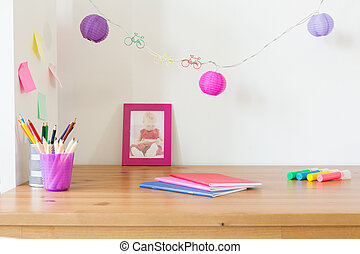 Study place for children - Cute study place for children...