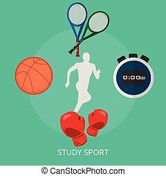 Study Sport Conceptual illustration Design