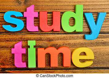 Study time stock photo images 17698 study time royalty free images study time word on wooden table thecheapjerseys Gallery