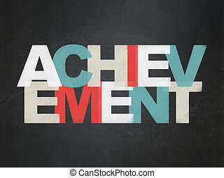 Studying concept: Achievement on School Board background