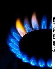 stufa, gas