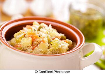 stufato verdure