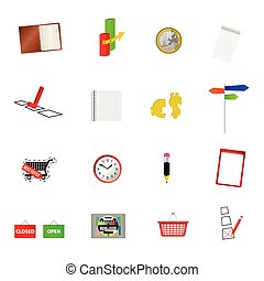 stuff vector illustration