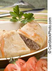 Stuffed cabbage roll