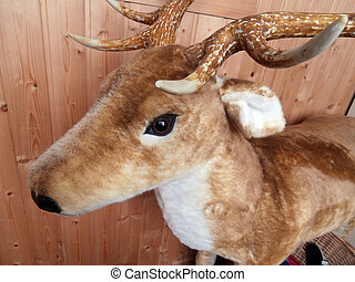 Stuffed plush deer