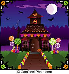 stuga, halloween