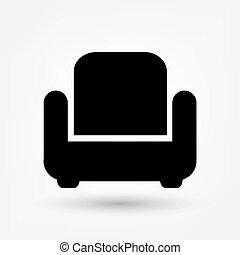 stuhl, ikone