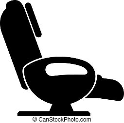 stuhl, massage