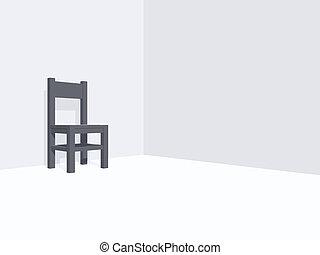 stuhl einsam einsam grunge abbildung wasser hintergrund stuhl. Black Bedroom Furniture Sets. Home Design Ideas
