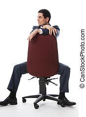 stuhl, voll, kugel