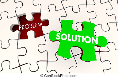 stuk, raadsel, oplossing, illustratie, opgeloste, probleem, vast, 3d