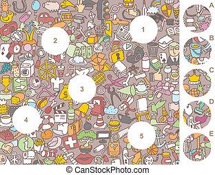 stukken, visueel, spel, lucifer