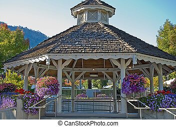 Stunning Late Summer Gazebo