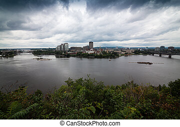 View of Ottawa River