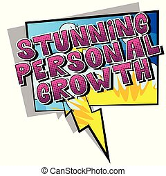 Stunning Personal Growth
