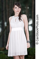 Stunning Teenage Model in Forest - Beautiful Location Shot...