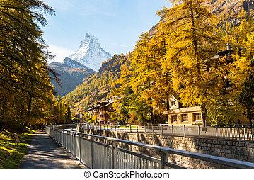 Stunning View Of Matterhorn