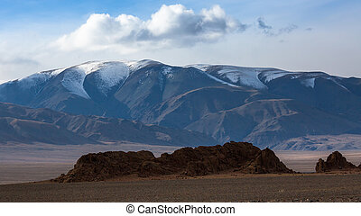 Stunning views of the mountains of Western Mongolia.