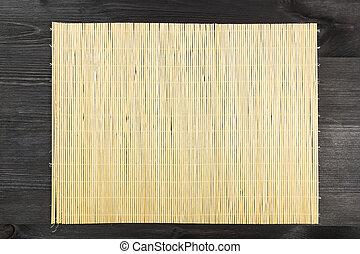 stuoia bambù, fondo.