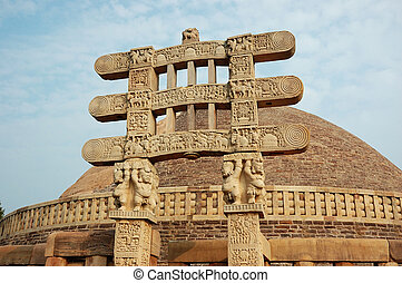 Stupa Gates in Sanchi