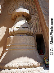 Stupa in monastery
