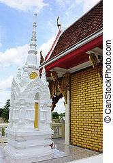 stupa in the temple of Thailand